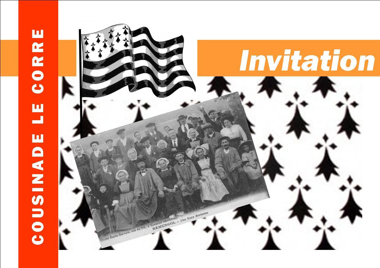 Invitation Cousinade Le Corre
